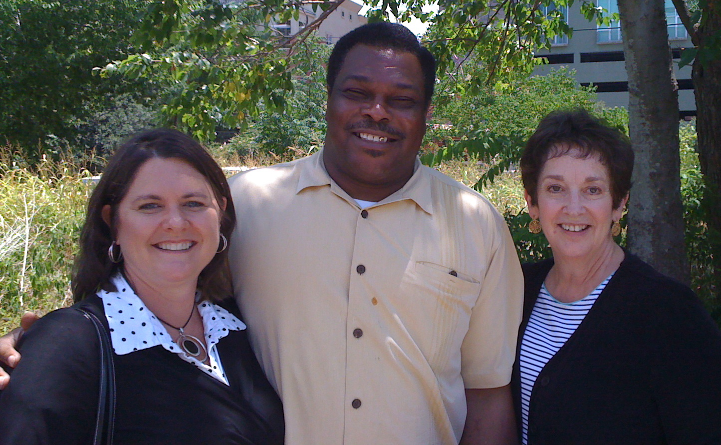iGETitLIFE Speaker Robin Bryce with Pastor Elmo Johnson and Anita Wood